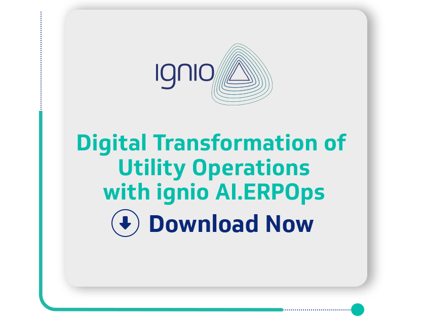 Case Study - Digital Transformation of Utility Operations with ignio AI.ERPOps