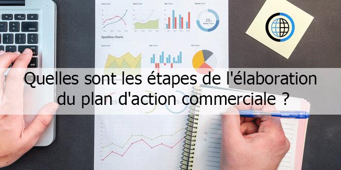 Etapes de l'élaboration du plan d'action commerciale