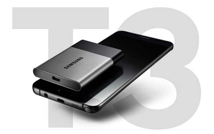 Hardisk eksternal bagus - Samsung Portable SSD T3