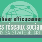 [Infographie] Utiliser efficacement les réseaux sociaux dans sa stratégie digitale