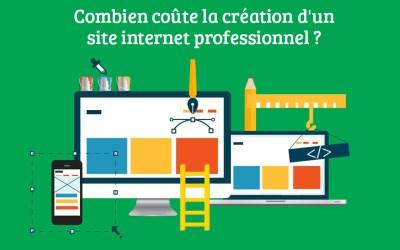 Combien coûte la création d'un site internet professionnel ?