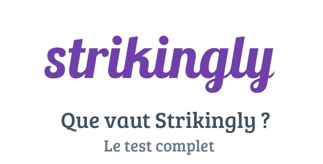 Strikingly : Test complet et avis