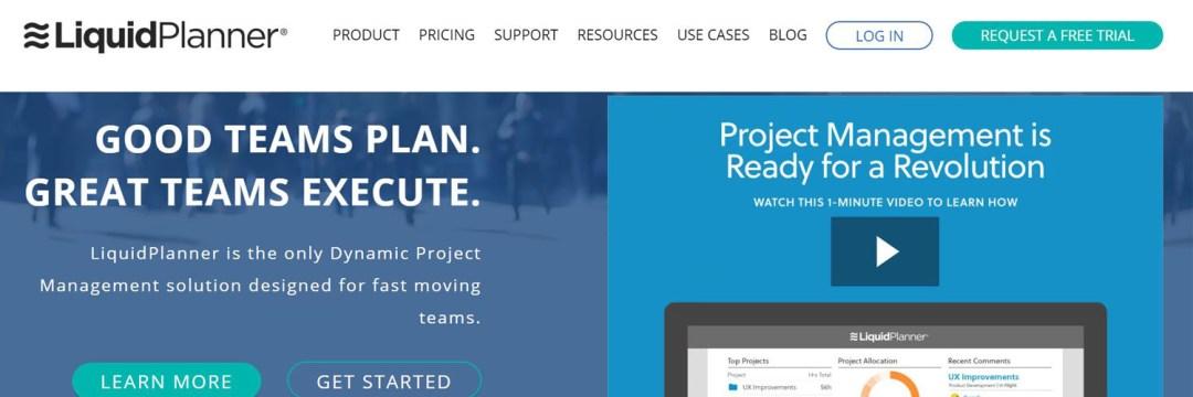 LiquidPlanner - les meilleures alternatives à MS Project