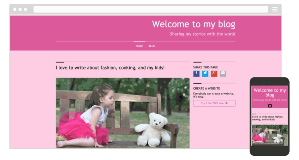 exemple site SimpleSite