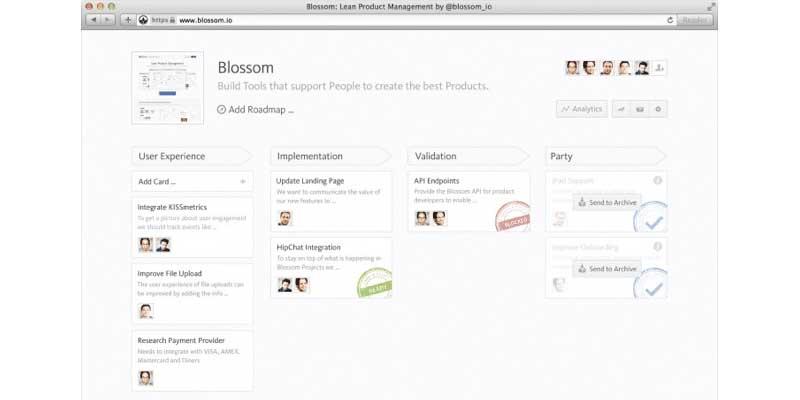 Blossom JIRA Alternative