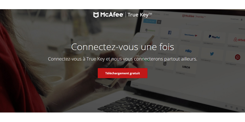 TrueKey by intel security
