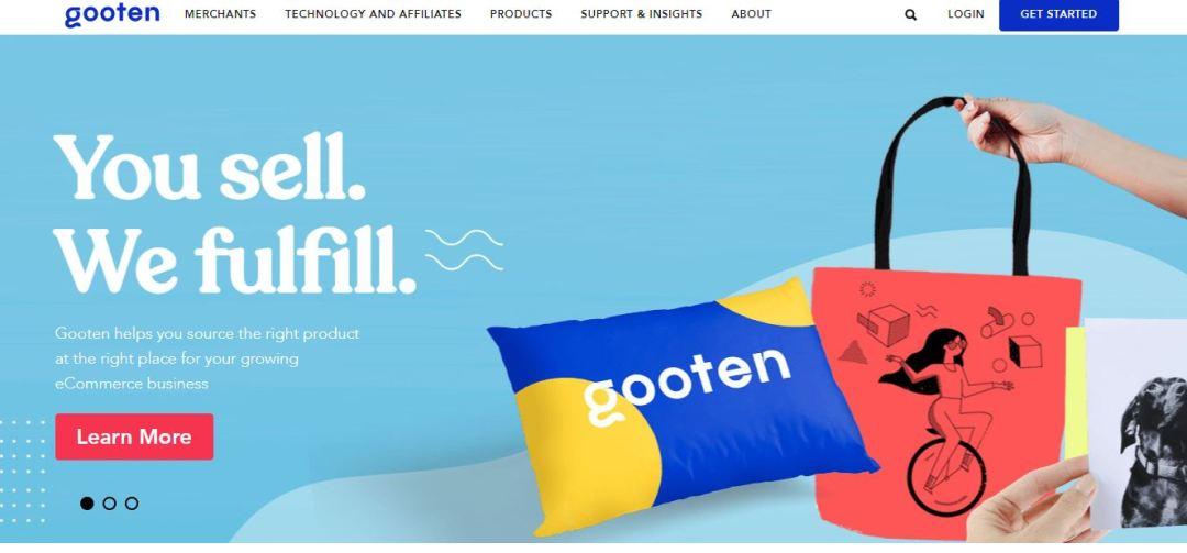 Gooten print on demand