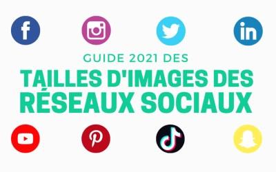Guide des tailles d'images pour les réseaux sociaux en 2021