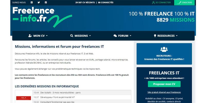Freelance info