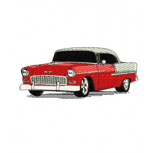 1955 Chevrolet Bel Air Embroidery Design 2
