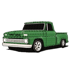 1964 Chevrolet Pickup Embroidery Design