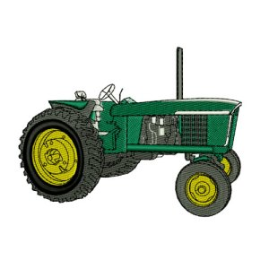 Heavy Equipment Tractor 1 Embroidery Design