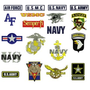Military Embroidery Design Discount Value Pack
