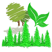 Plants & Trees Embroidery Designs
