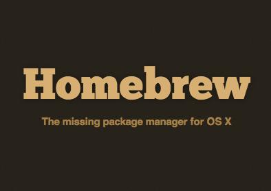 Homebrew Logo - Mac OS X