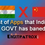 List of Apps that india GOVT has Banned