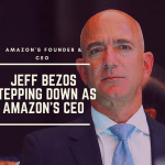 Jeff Bezos is stepping down as Amazon's CEO