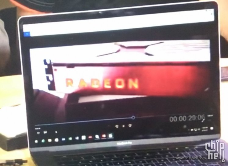 AMD Radeon RX Vega card pictured