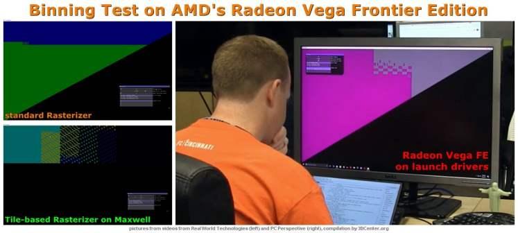 AMD Vega FE without Tile-based Rasterizer