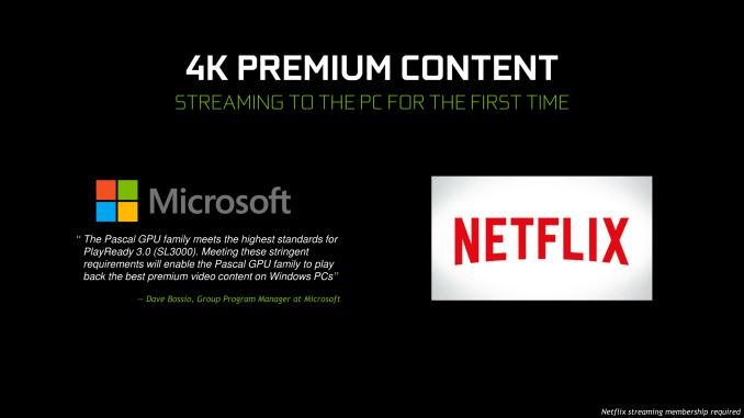 Netflix 4K for GTX 10-series GPUs - Nvidia driver 384.76