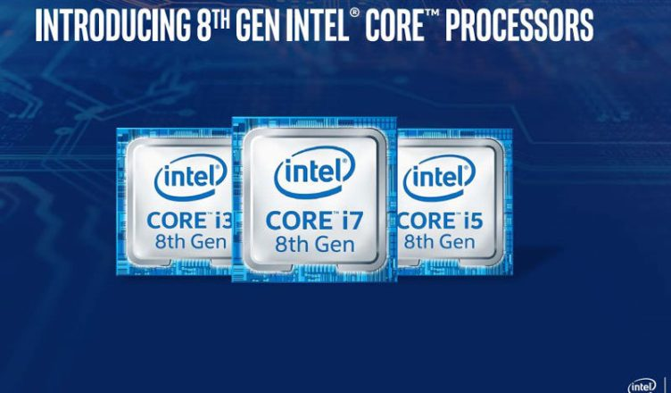 Intel 8th Gen Coffee Lake desktop processors - Compatible with 300-series chipset