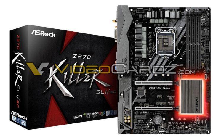 ASRock Z370 Motherboards - Killer SLI/AC