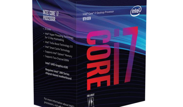 Intel Coffee Lake CPU prices at the LambdaTek UK