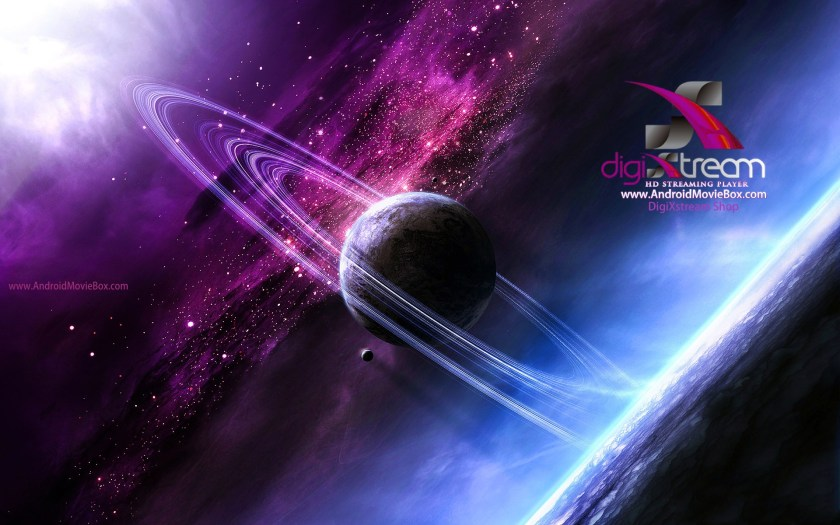 DigiXstream AndroidMovieBox Background space planet