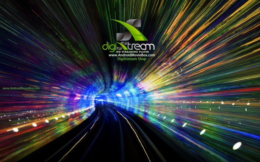 DigiXstream AndroidMovieBox Background tunnel