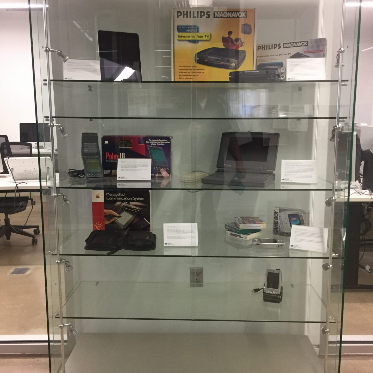 IDM Display Case