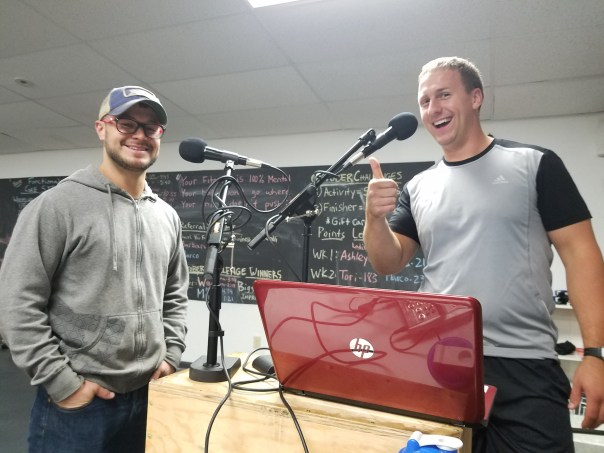 Digman Fitness Podcast Corey Digman And Maro at Digman Fitness Madison Wisconsin