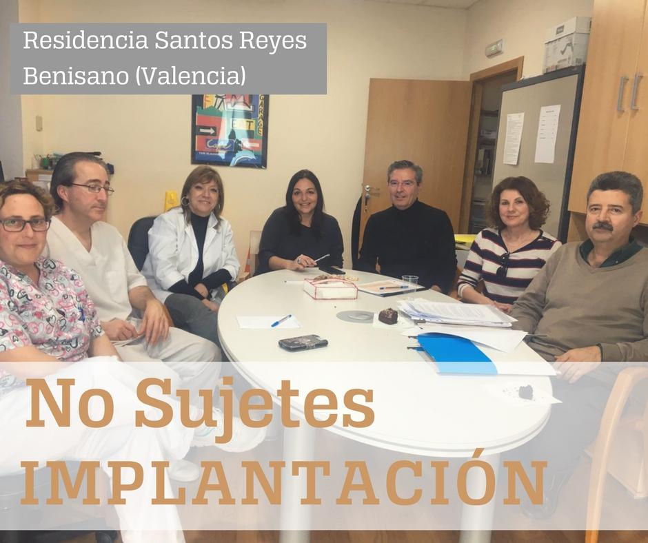 No Sujetes-Residencia Santos Reyes