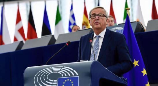 Jean-Claude Juncker lors d'un sommet en septembre 2017