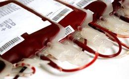 Des poches de sang pour la transfusion sanguine