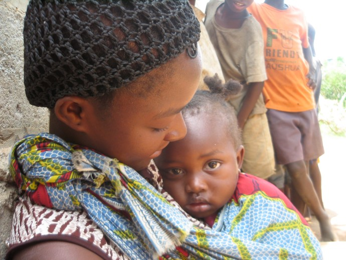 Mother daughter dignity zambia