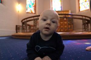 Opmærksomheden er stor til babysalmesang