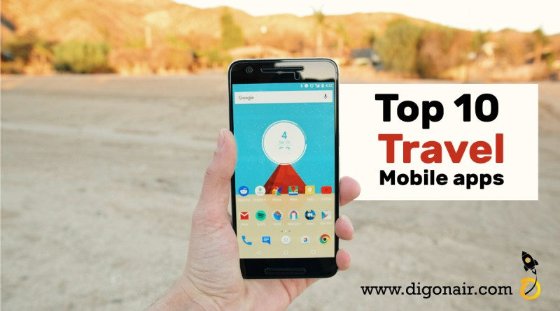 Top 10 Travel and tourism Mobile Apps