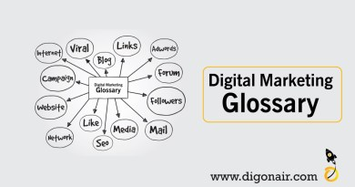 Digital mArketing Glossary by DigOnAir