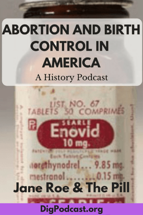 The history of birth control and the pill in America. #birthcontrol #roevwade #thepill #feminist