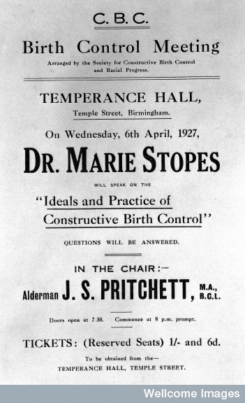 Marie Stopes Birth Control