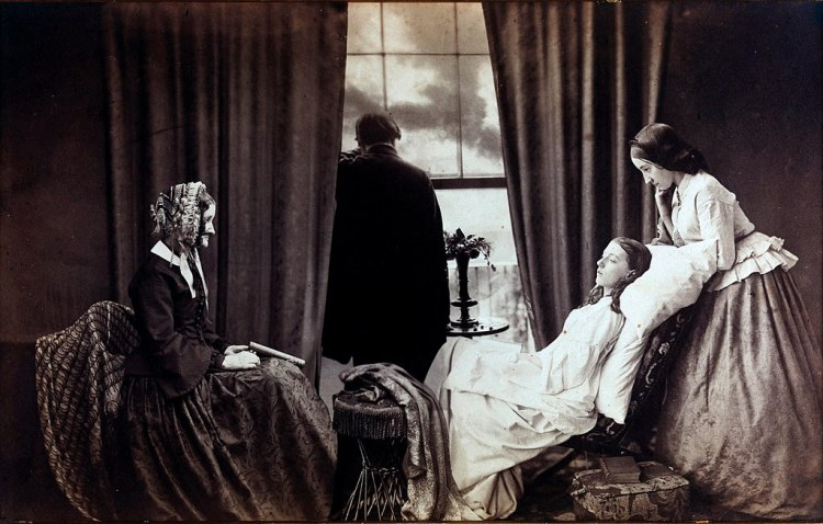 Fading Away (1858) Henry Peach Robinson (1830–1901) - George Eastman House. The Good Death. Memento Mori