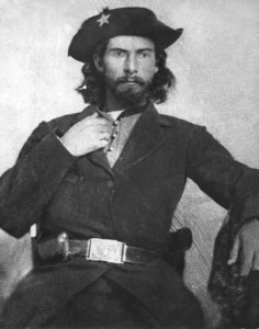 """Bloody"" Bill Anderson, ca. 1863 or 1864. Guerrilla warfare on the western front in the American Civil War. #civilwar #americanhistory #history"