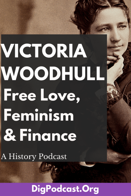 Victoria Woodhull was an advocate of free love, an outspoken advocate for women's rights and suffrage, a Spiritualist medium, a stockbroker, maybe a sex worker, an all-around force of nature. She might be one of the most controversial women in American history, which means she is one of our favorites. For this episode of our series on Women, we're talking about the life of the groundbreaking, rule breaking Victoria Woodhull.