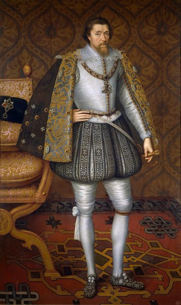a painting of James I