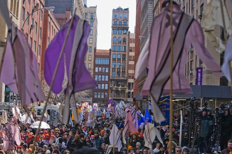 a contemporary march recognizing the triangle fire of 1911