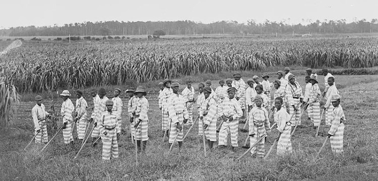 Slave Codes, Black Codes and Jim Crow. Codifying the Color Line. Convict leasing of children,1903