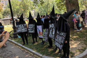 W.I.T.C.H. counterprotesters