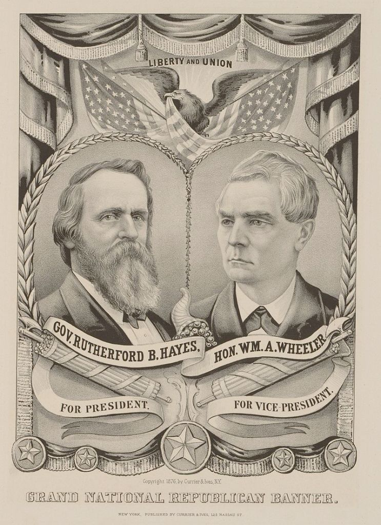 Hayes/Wheeler Campaign Poster