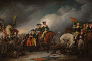 John Trumbell, The Capture of the Hessians at Trenton, 1776