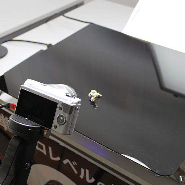 宝石の撮影 アイフォトBOX